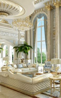 Marvelous Check out these cozy living room ideas and design schemes for tiny spaces. From cosy options to modern looks, take a look at the best cozy living room. Most Popular Interior Design Styles Defined in 2018 The post Check . Luxury Rooms, Luxury Home Decor, Luxury Interior Design, Classic Interior, Contemporary Interior, Mansion Interior, Room Interior, Interior Columns, Palace Interior