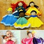 Disney Princess Lovey Blanket Crochet Ideas   The WHOot
