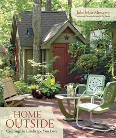 Home Outside: Creating the Landscape You Love  By Julie Moir Messervy    Home Outside is a user-friendly guide to composing a unique and personal landscape. Clear and concise writing, together with beautiful photographs, before- and after- images, diagrams, green tips, and case studies, all illustrate that good landscape design is approachable, affordable, and attainable. 2010 Garden Writers Associate Gold Media Award for best writing.