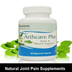Get cure your joint pain with natural supplement. #arthritis_remedies
