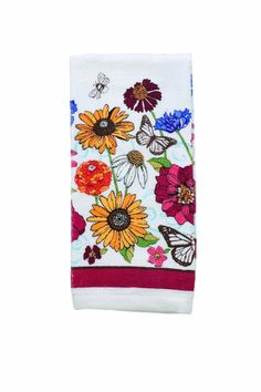 RITZ Signs Of Spring Velour Kitchen Towel $14.95 OUT THE DOOR! PICK UP OR WE WILL SHIP FREE CULINART www.shopculinart.com