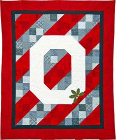 OSU Champions Quilt Kit Queen Bed Size