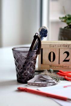 Schicke Schreibtisch Utensilien, #Kalender, #Bloomingville, #Desk, #Office,  www.martha-s.de