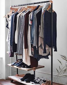 Open-rack closet