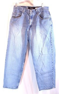 Levi's Boot SilverTab Flat Front Men's Jeans Measured Appx 44 x 29 ...