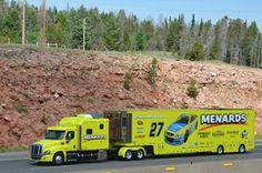 Racing Team, Road Racing, Auto Racing, Sprint Cars, Race Cars, Paul Menard, Formula Drift, Freightliner Trucks, Big Rig Trucks