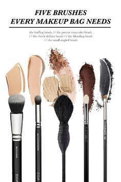 Five Brushes Every Makeup Bag Needs | STYLE'N