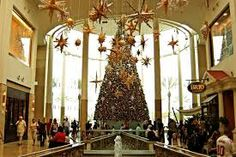 Love the Christmas decorations at the Mall of Millenia in Florida