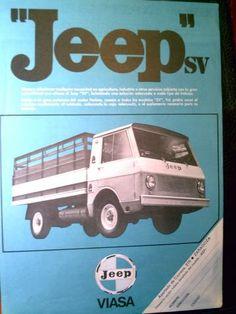 Artículo sobre los 50 años de la furgo Jeep SV. - Página 2 - ForoCoches