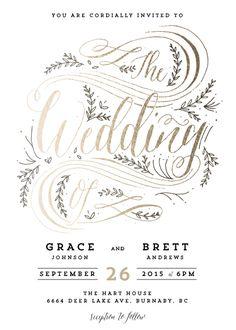 Wedding Invitation Challenge: Special Prize Winners | Julep