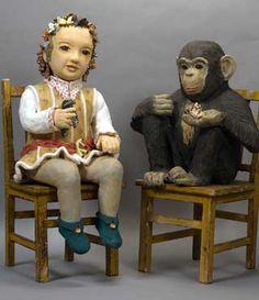 Nuala-Creed, socio-political ceramic sculpture, figurative ceramic sculpture in clay