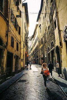 | ♕ |  Vicolo vecchio di Firenze   | by © Ervine Lin | via ysvoice