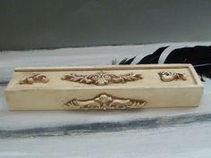 Personalized box for penWooden boxpencil pen by InspirellaDesign