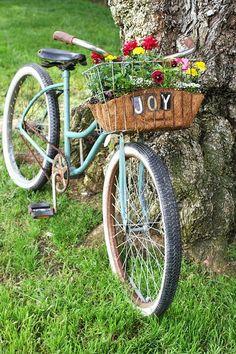 Joy of Spring. Almost like my Jamis Boss Cruiser, a retired Block Island rental...