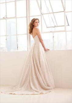 The stunning Clara by Kelly Faetanini. #weddingdress #gown #wedding #bride