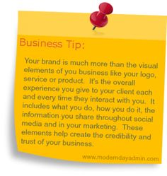 Business Tip: What is your Brand?