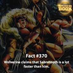 He's still no Wolverine.... Always loved their rivalry. #Wolverine claims that…