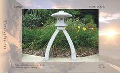 Natural Stone/Granite Garden Lantern, Japanese Lanterns
