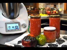 Conserva de tomate triturado con Thermomix ® - YouTube Youtube, Ground Meat, Tomato Sauce, Harvest, Preserves, Tomatoes, Thermomix, Youtubers