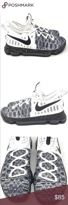 brand new 2318c f3ba1 ... sale nike zoom kd 9 kids youth oreo basketball shoes nike zoom kd 9  kids youth