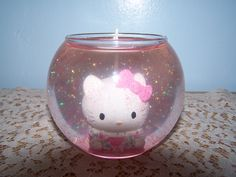Hello Kitty Novelty Gel Candle