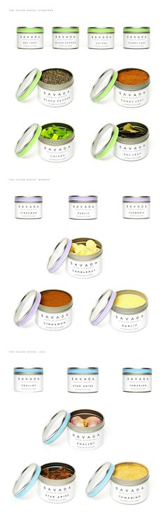 Savada - Spices of Indonesia (Student Project) on Packaging of the World - Creative Package Design Gallery