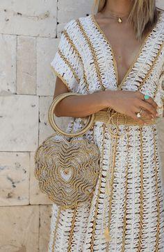 Boho Crochet Patterns, Hippie Crochet, Crochet Fabric, Crochet Tote, Crochet Gifts, Crochet Designs, Hand Crochet, Knit Crochet, Broomstick Lace Crochet