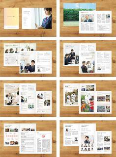 高等学校 学校案内パンフレット制作実績029|ブランディングのパドルデザインカンパニー Pamphlet Design, Booklet Design, Web Design, Graphic Design, Business Brochure, Page Layout, Guide Book, Editorial Design, Feel Good
