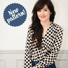 The Anderson Blouse from Sew Over It is their latest digital PDF sewing pattern. Head to the blog to find out more: http://sewoverit.co.uk/pdf-pattern-the-anderson-blouse/