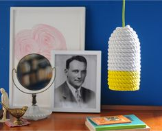 How to:  cotton rope pendant light fixture