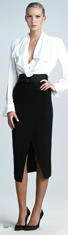 Donna Karan  I can turn heads at work with this look lol!!