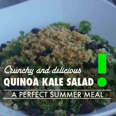 Unique, healthy summer recipes that are delicious and good for you!