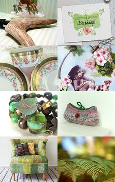 Celebrating Spring by Carol Schmauder on Etsy--Pinned with TreasuryPin.com