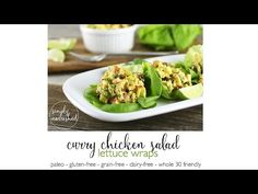 IMO: SO yummy! Used rotisserie chicken Crave-worthy Curry Chicken Salad with just 10 ingredients is quick to prepare with leftover cooked chicken. Paleo and Whole Serves Chicken Curry Salad, Chicken Salad Recipes, Whole 30 Recipes, Real Food Recipes, Healthy Recipes, How To Cook Chicken, Cooked Chicken, Rotisserie Chicken, Clean Eating