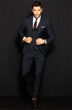 Every Man Should Own A 3Piece Suit.   Dolce Pinstripe Suit | Nordstrom