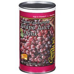 Great Value Grape Juice Drink, 12 fl oz