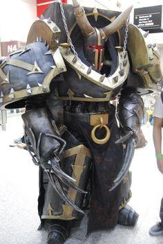 Warhammer 40K Araghast The Pillager. Costume by ~Giedriusonline.