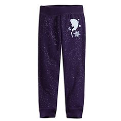 Elsa Fleece Pants for Kids | Disney Store