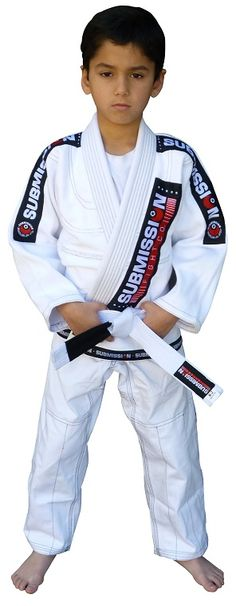 NJ FIGHT SHOP - Submission Kids Gi, $79.95 (http://www.njfightshop.com/submission-kids-gi/)