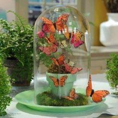 Butterfly arrangement. Martha Stewart