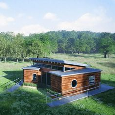 You Could Build A Luxury Tiny House With Shipping