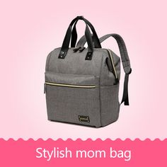 d89fdb060d COLORLAND Backpack baby diaper bag nappy bags Maternity mommy Handbag  Changing Bag wet infant for babies care organizer