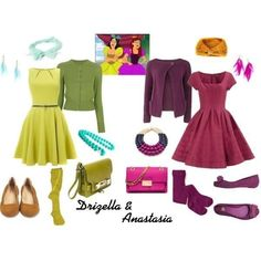 Step sisters with different taste! (Cinderella)