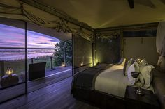 DumaTau has had a spectacular transformation. The refurbished main area and upgraded rooms impart a stylish new look and feel, amplifying this lovely lodge's exceptional wilderness surroundings. Chobe National Park, National Parks, I Am An African, Luxury Tents, Camps, Tent Camping, Lodges, Wilderness, Albums