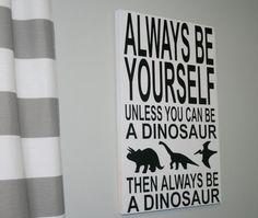 Hey, I found this really awesome Etsy listing at https://www.etsy.com/listing/269367243/dinosaur-sign-dinosaur-decor-boys