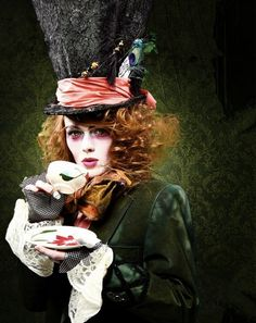 Mad Hatter cosplay via Madame Kighal on www.myteadrop.com Oct. 31, 2014.