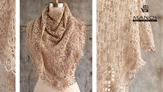 FREE shawl knitting pattern - download at LoveKnitting!