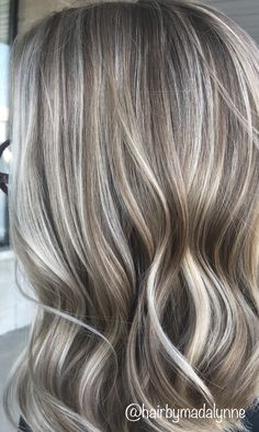 ash blonde hair with highlights . ash blonde hair with lowlights . Blond Ash, Ash Blonde Hair With Highlights, Grey Blonde Hair, Ash Blonde Balayage, Light Ash Blonde, Platinum Blonde Hair, Blonde With Brown Lowlights, Cool Toned Blonde Hair, Medium Ash Blonde Hair