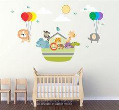 Noah's Ark Wall Decal Wall Decals Nursery Wall Decal