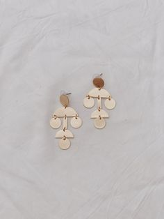 Call me the Breeze Goldie Drop Earrings